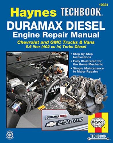 Duramax Diesel Engine Repair Manual Haynes Techbook  U2013 Laga